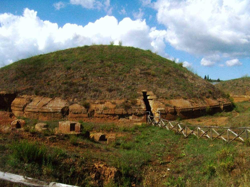 Некрополь Бандитачча - наследие этрусской цивилизации