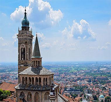 Бергамо - таинственный город Италии, пленяющий своей красотой