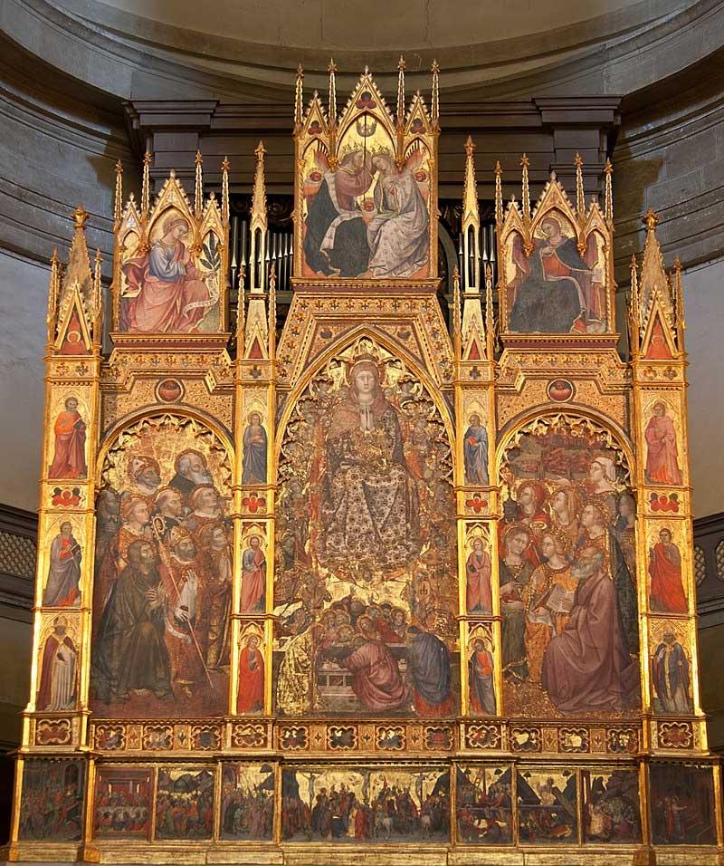 Дуомо ди Монтепульчано Санта Мария Ассунта главный алтарь