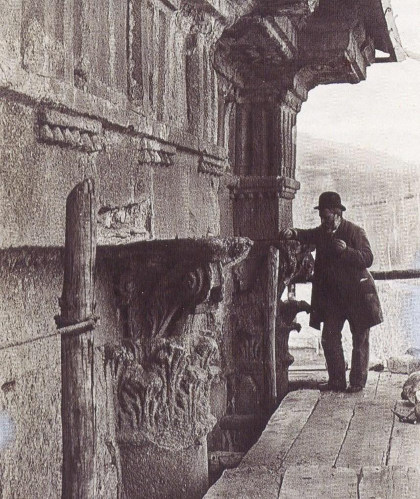Restauro Arco di Augusto 1912