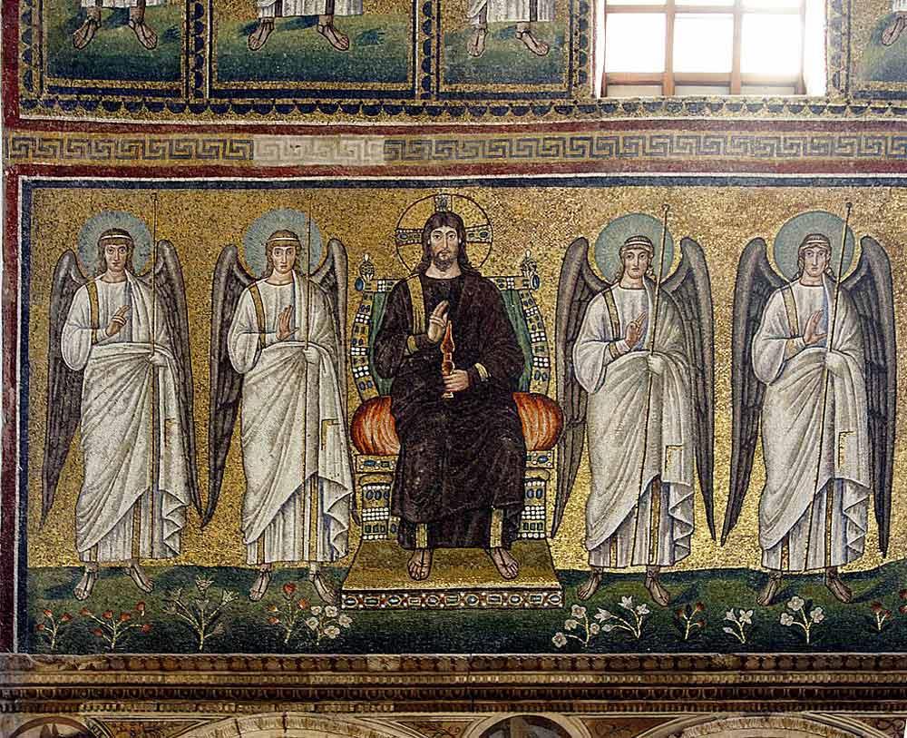 мозаики равенны Базилика Сант Аполлинаре Нуово