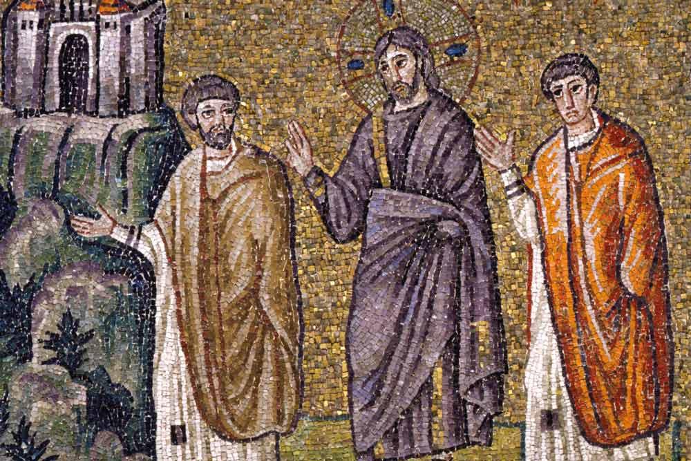 мозаики Базилика Сант Аполлинаре Нуово в равенне