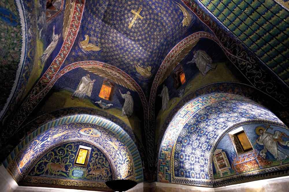 мозаики равенны Мавзолей Галлы Плацидии