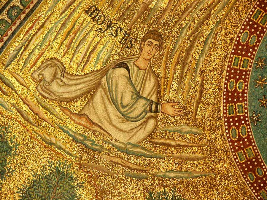 мозаики равенны Сант Аполлинаре ин Классе абсида