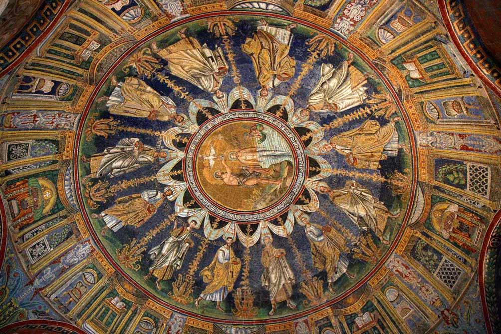 Мозаики неонианского баптистеря