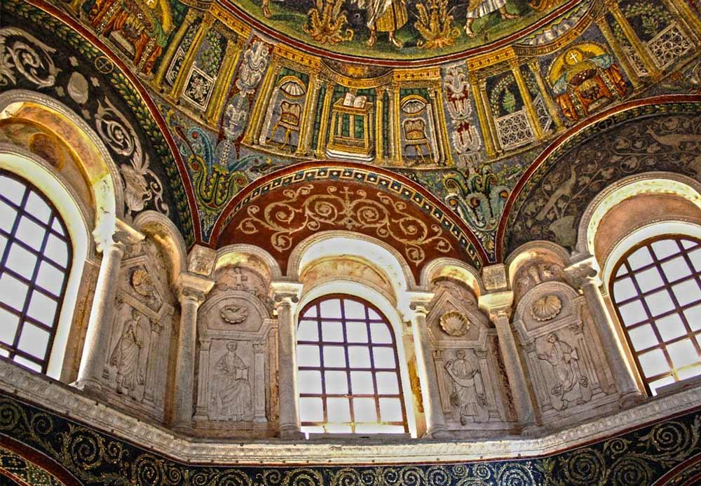 мозаики равенны неонианский баптистерий православных