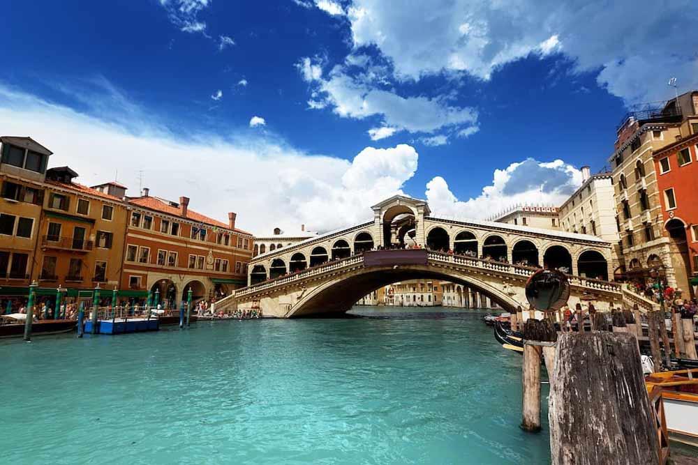 Мост Риальто Венеция Гранд Канал