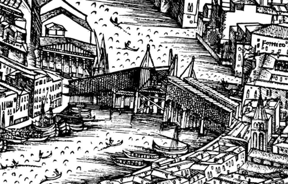 Деревянны мост Риальто