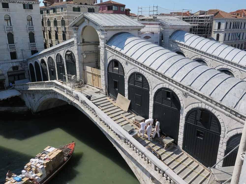 реставрация моста риальто