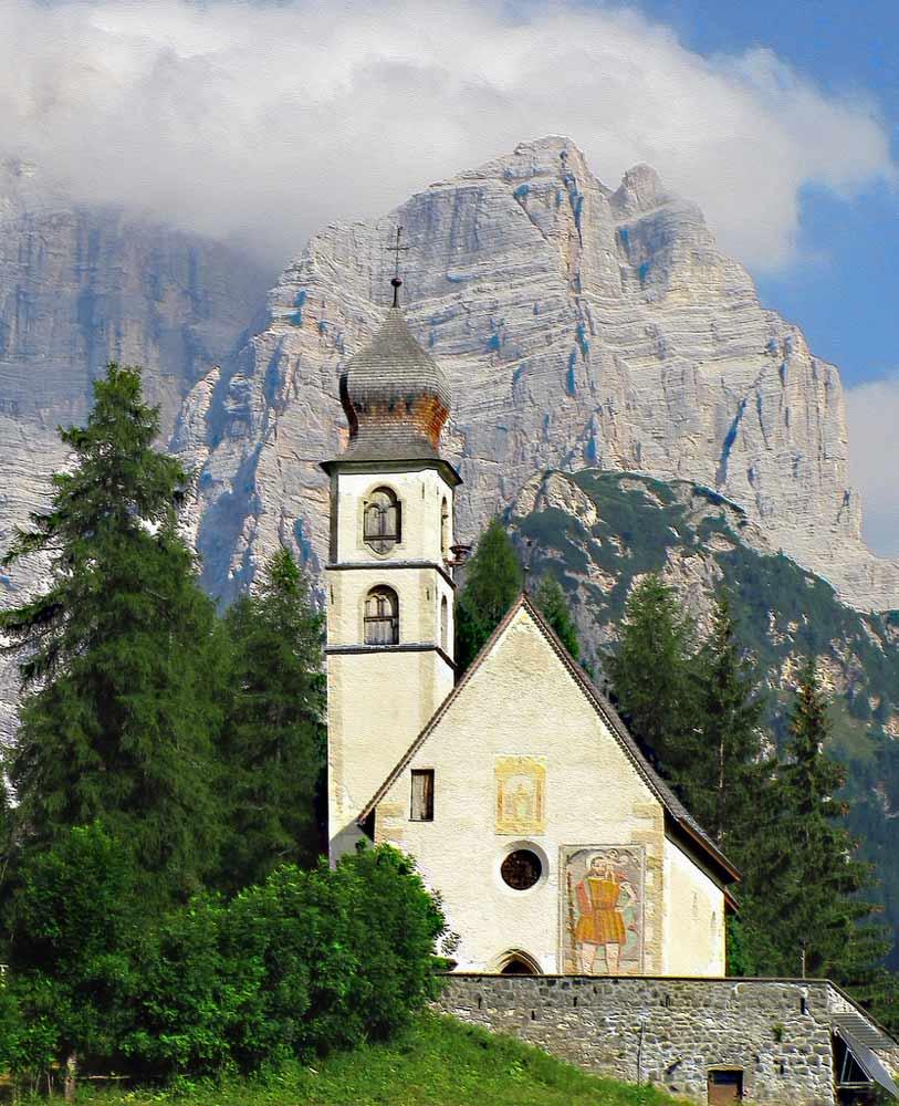 Беллуно церковь