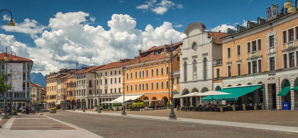 Главная площадь Беллуно