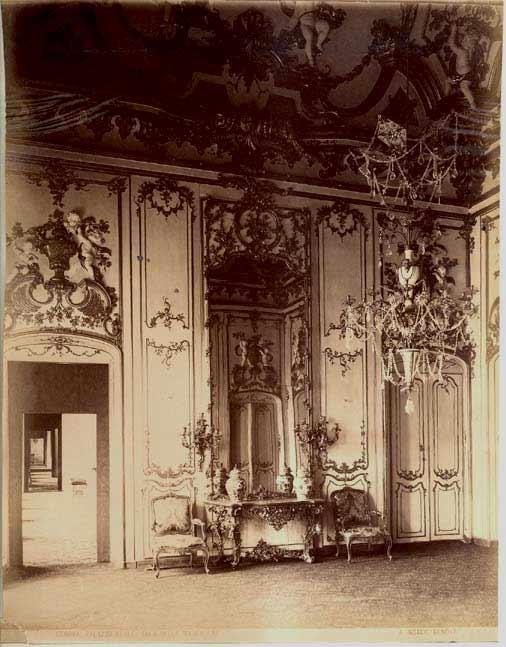 Palazzo Pallavicin. Конец XIX века