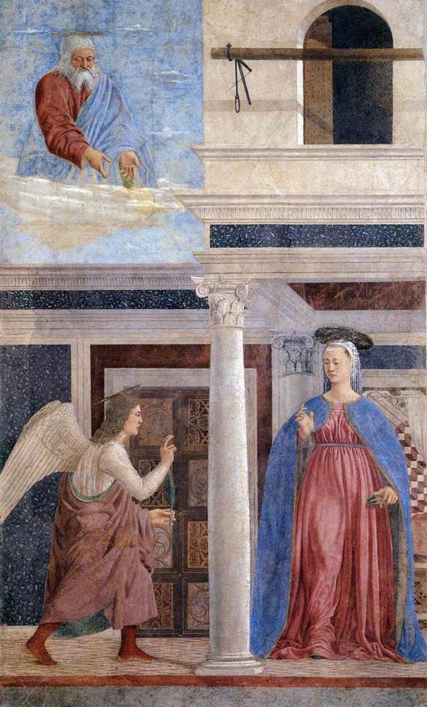 Пьеро делла Франческо фрески Воскресение Христа