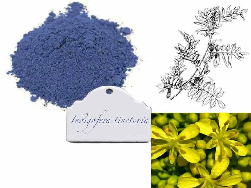 Вайда синий краситель порошок натуральные красители