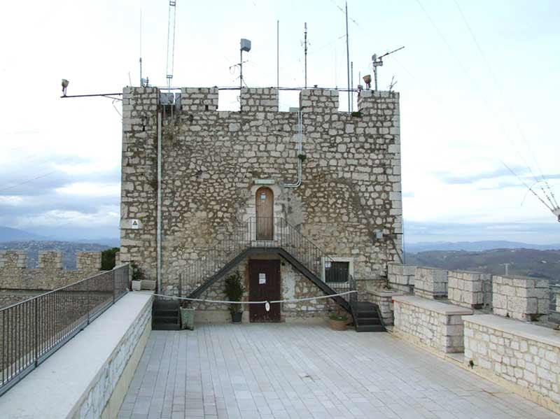 Замок Кампобассо терраса