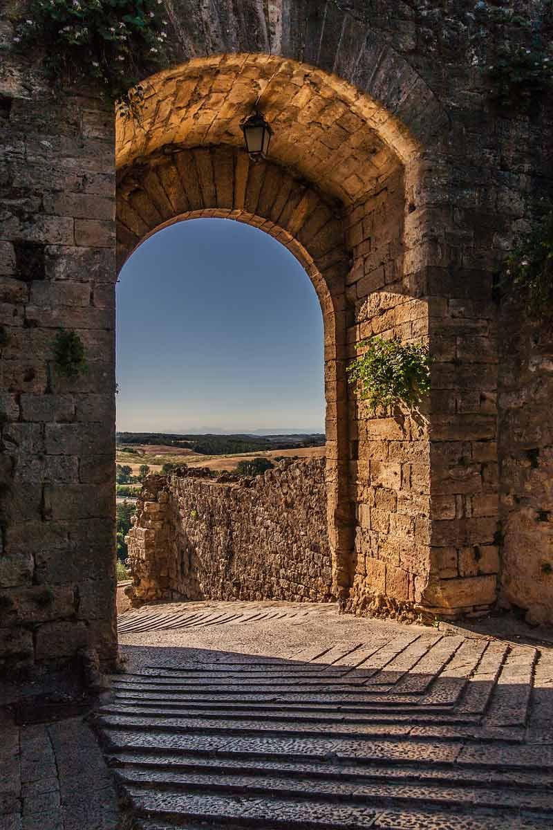 Монтериджони в короне своих башен