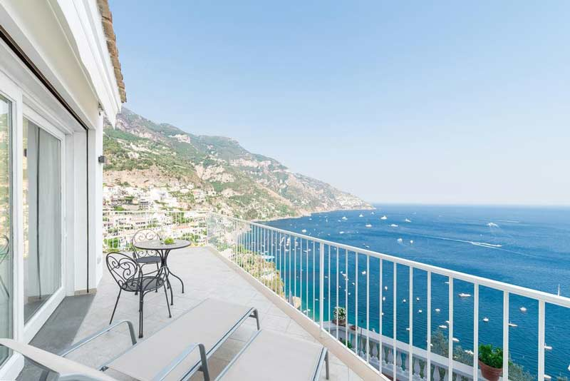 Позитано отель панорама на море