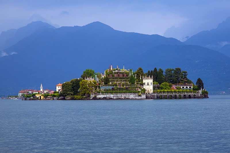 Изола Белла озеро Маджоре Италия