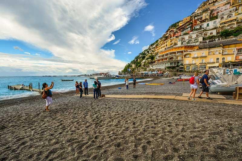 Пляжи Позитано: лучшие места для отдыха