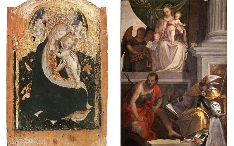 музей Кастельвеккио коллекция живописи