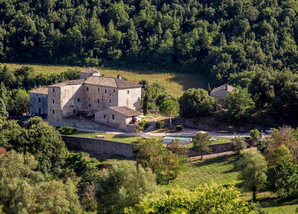 Отели Умбрии: старинные замки