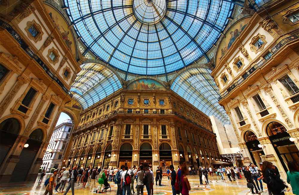 Галерея Виктора Эммануила II в Милане – часы работы, билеты, достопримечательности