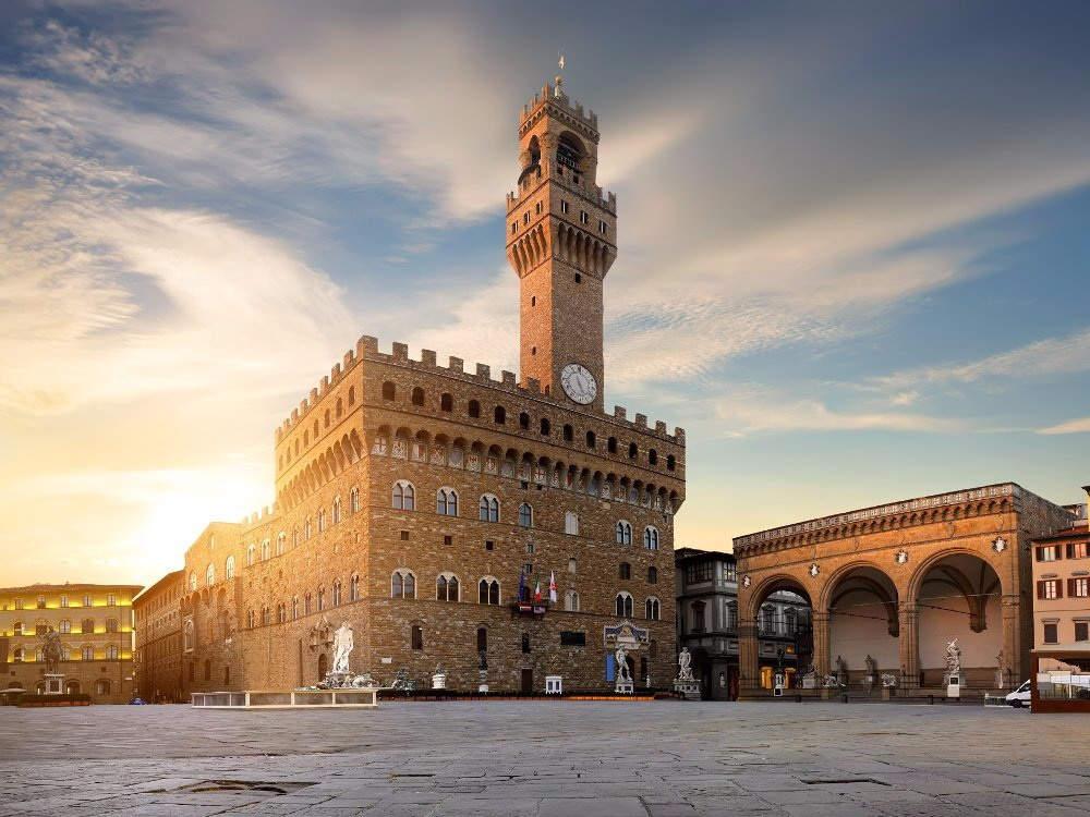 Палаццо Веккьо Флоренция, площадь Синьории Флоренция, Пьяцца делла Синьория Флоренция