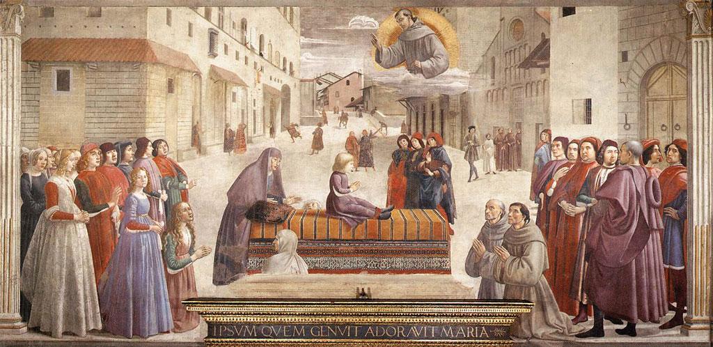 Часовня Сассетти , церковь Санта Тринита