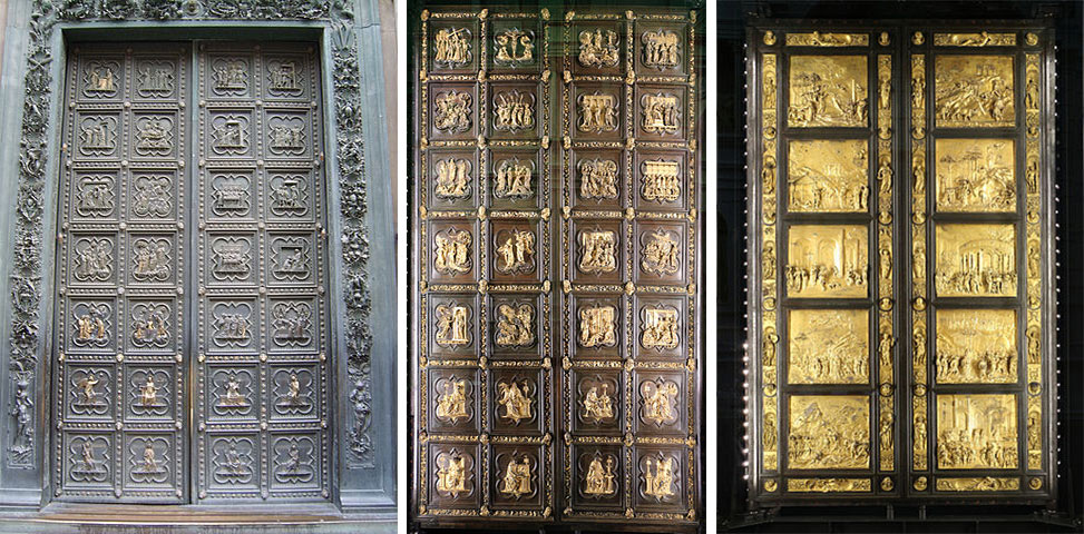 двери баптистерия , флорентийский баптистерий , баптистерий Сан Джованни