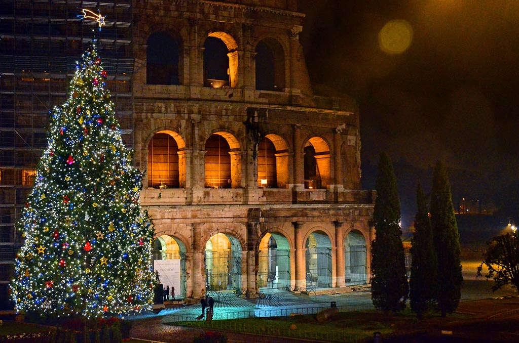 рождество в италии, как празднуют рождество в италии, новогодняя елка в италии