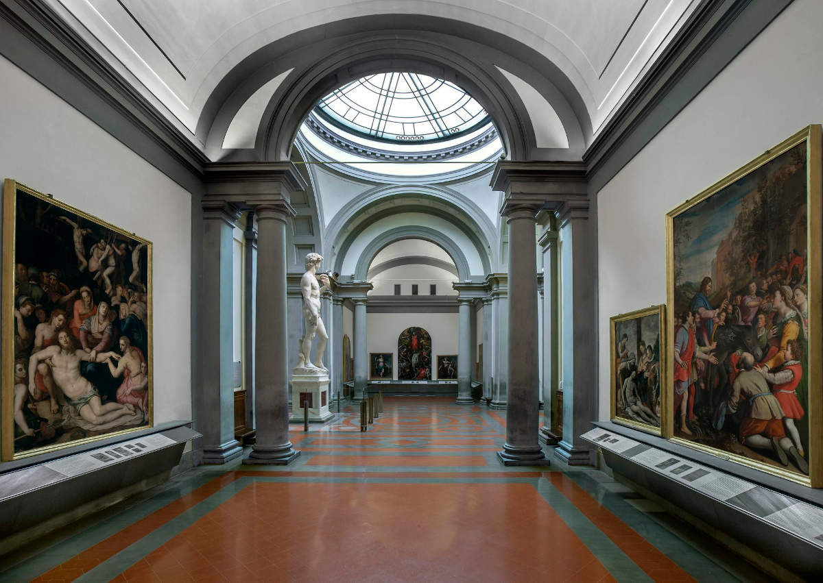 галерея академии флоренция, давид микеланджело
