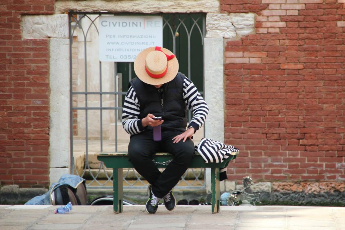 венецианский гондольер, гондольеры в венеции