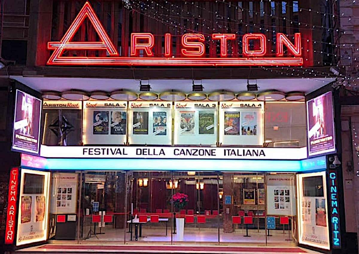 аристон, фестиваль сан ремо, фестиваль итальянской песни