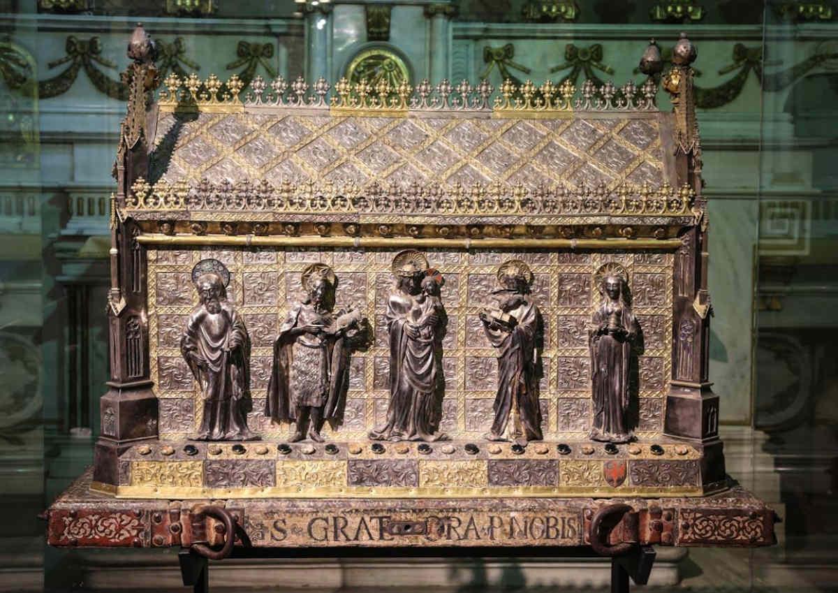 музей сокровищ аоста, реликварий