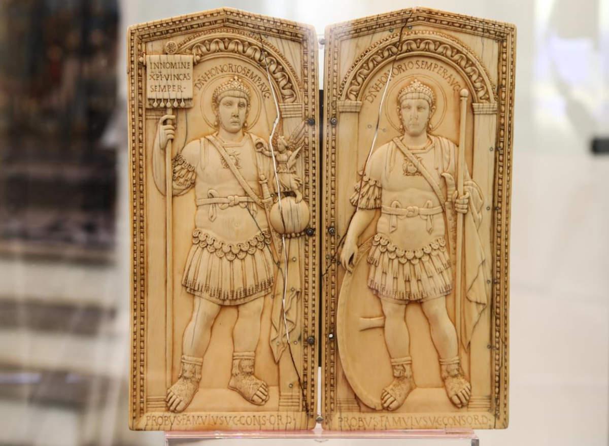 музей сокровищ аоста, консульский диптих