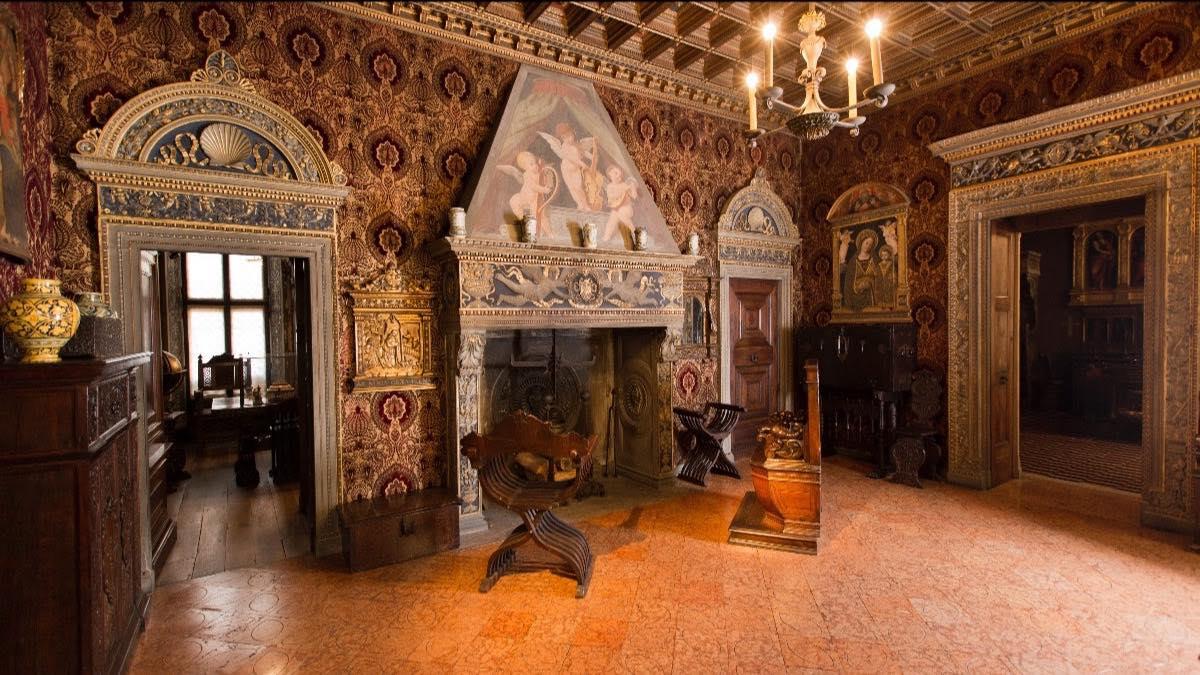 Зал Бевилаква музей Багатти Вальсекки Милан