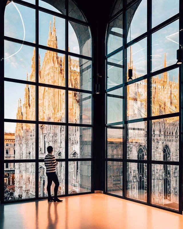 музей Новеченто в Милане смотровая площадка