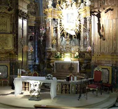Санктуарий Консолата, Турин: онлайн трансляция