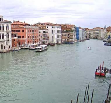 Большой Канал Венеции: онлайн трансляция