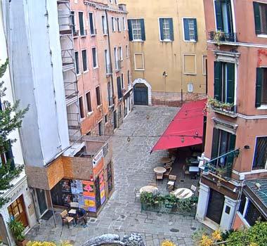 Кампьелло Маринони, Венеция: камера онлайн
