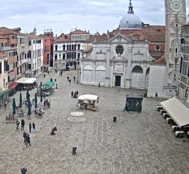Площадь Санта Мария Формоза, Венеция: камера онлайн