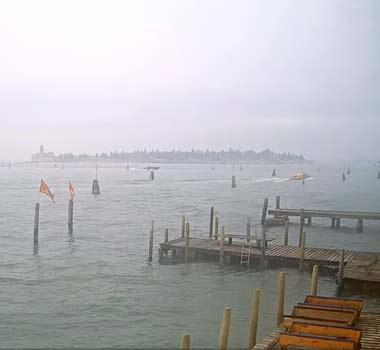 Венецианская лагуна, восток: онлайн камера