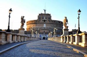 Замок Святого Ангела - Мавзолей Адриана. Рим
