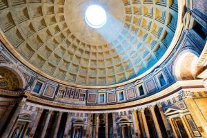 Купол Пантеона. Рим