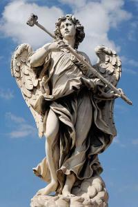Скульптура ангела в Риме. Бернини
