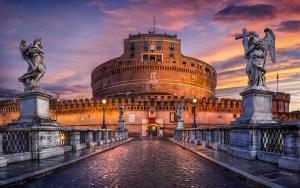 Замок Святого Ангела. Рим