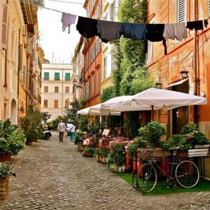 Рим. Район Трастевере