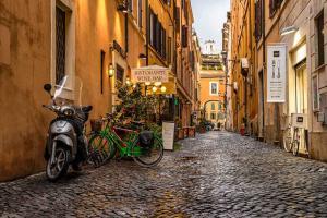 Район Трастевере. Рим